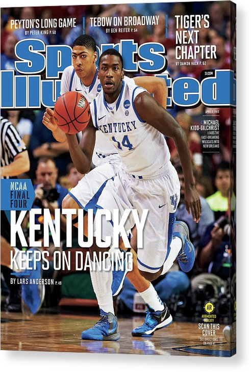 Atlanta Acrylic Print featuring the photograph University Of Kentucky Michael Kidd-gilchrist, 2012 Ncaa Sports Illustrated Cover by Sports Illustrated