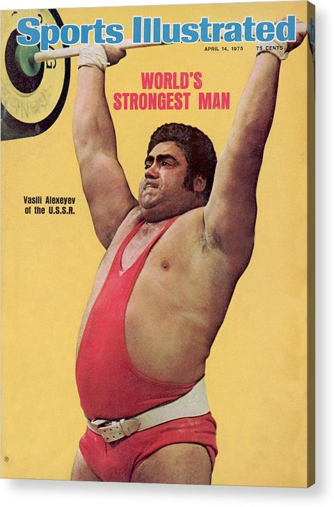Event Acrylic Print featuring the photograph Ussr Vasily Alexeyev, 1972 Summer Olympics Sports Illustrated Cover by Sports Illustrated