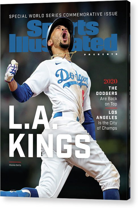Mlb Acrylic Print featuring the photograph Los Angeles Dodgers Special World Series Commemorative Sports Illustrated Cover by Sports Illustrated