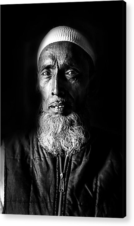 Shaman Acrylic Print featuring the photograph The Shaman by James Rosales