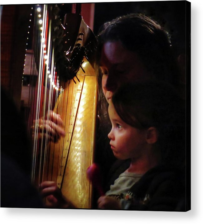Irish Harp Kathleen Protege Acrylic Print featuring the photograph Protege by Scott Waters