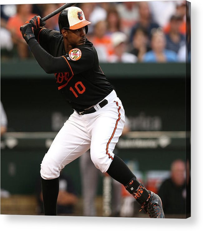 People Acrylic Print featuring the photograph Adam Jones by Patrick Smith