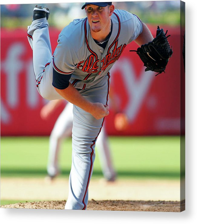 Citizens Bank Park Acrylic Print featuring the photograph Craig Kimbrel by Rich Schultz
