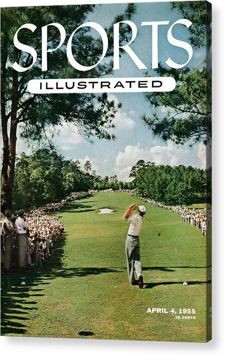 Magazine Cover Acrylic Print featuring the photograph Ben Hogan, 1954 Masters Tournament Sports Illustrated Cover by Sports Illustrated