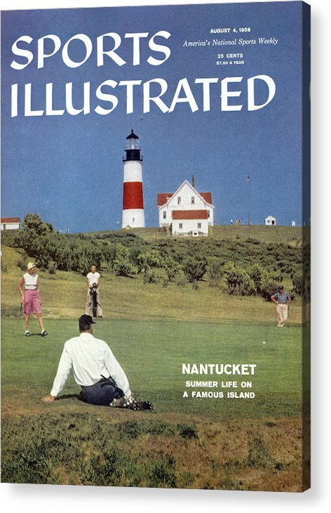 Magazine Cover Acrylic Print featuring the photograph Nantucket Island Golf Sports Illustrated Cover by Sports Illustrated