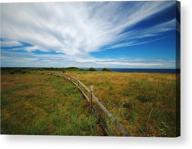 Cape Cod Acrylic Print featuring the photograph Cape Cod Vista by Lisa Kane