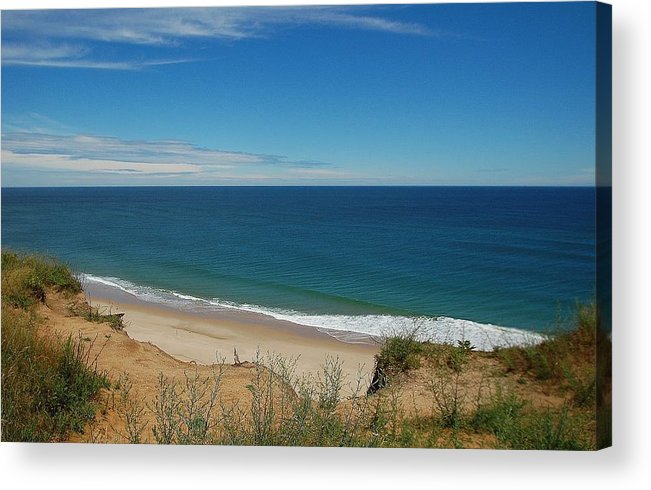 Ocean Acrylic Print featuring the photograph Ocean View by Lisa Kane