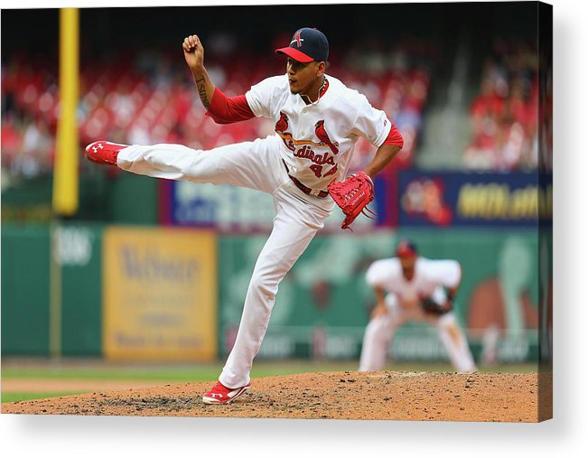 St. Louis Cardinals Acrylic Print featuring the photograph Pittsburgh Pirates V St. Louis Cardinals by Dilip Vishwanat