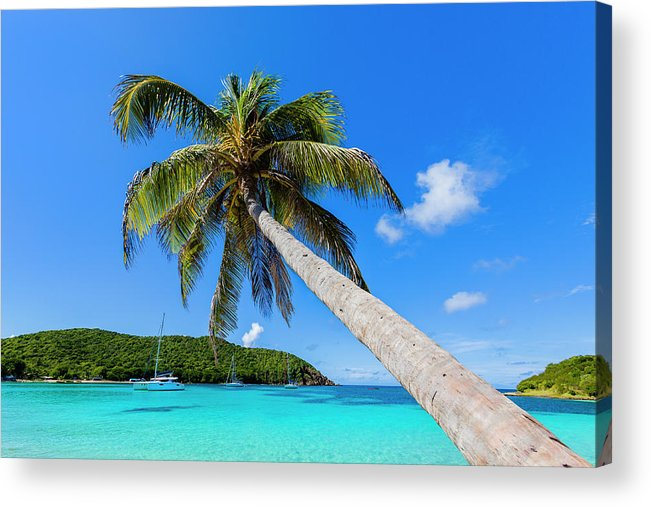 Water's Edge Acrylic Print featuring the photograph Salt Whistle Bay, Mayreau by Argalis