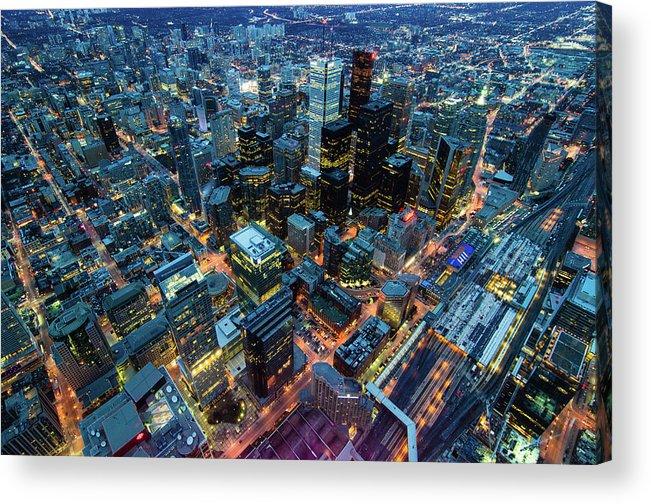 Toronto Acrylic Print featuring the photograph Toronto by Naeem Jaffer