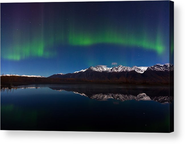 Acrylic Print featuring the photograph Auroras by Richard Jack-James
