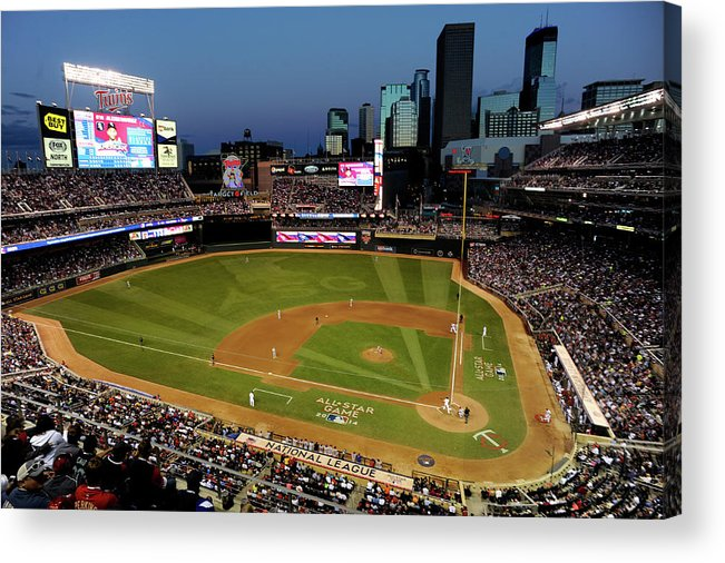 American League Baseball Acrylic Print featuring the photograph 85th Mlb All Star Game by Hannah Foslien