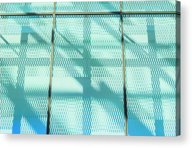 Berlin Acrylic Print featuring the photograph Architectural Detail Of Modern Shopping by Ingo Jezierski