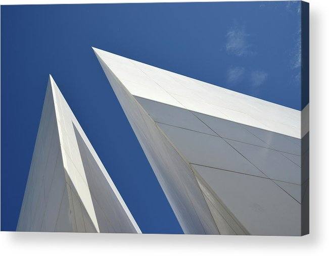 Tranquility Acrylic Print featuring the photograph Architectural Details by Martial Colomb