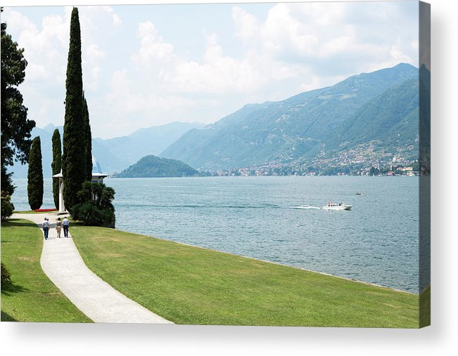 Tranquility Acrylic Print featuring the photograph Bellagio, Lake Como, Lombardy, Italy by Tim E White