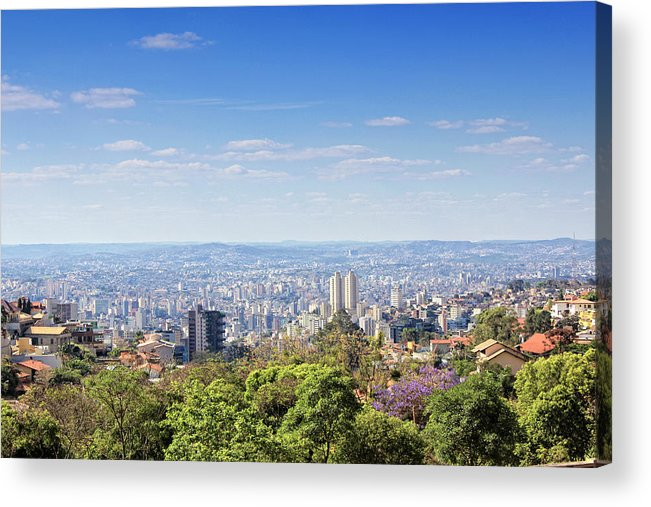 Tranquility Acrylic Print featuring the photograph Belo Horizonte by Antonello