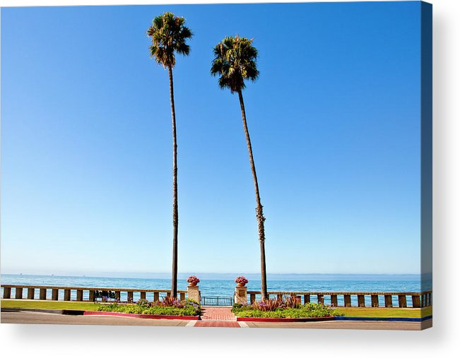 Tranquility Acrylic Print featuring the photograph Butterfly Beach, Santa Barbara by Geri Lavrov