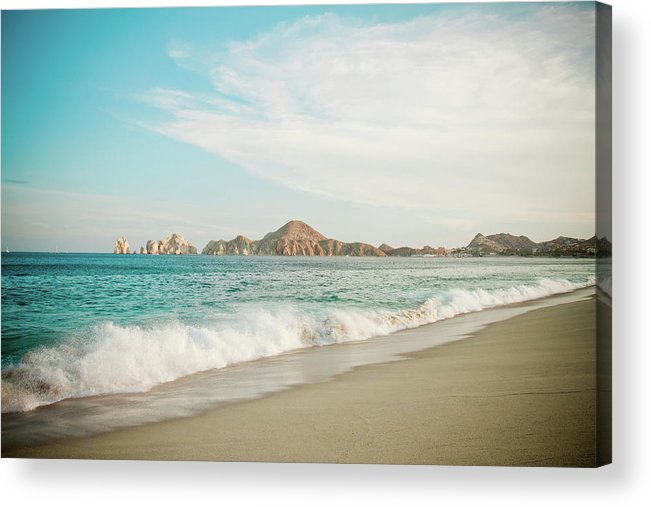 Water's Edge Acrylic Print featuring the photograph Cabos San Lucas by Christopher Kimmel