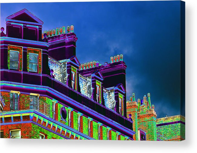 Chimney Acrylic Print featuring the photograph Couldn't Find the Sweeps by Richard Henne