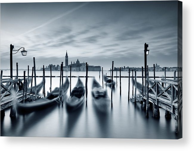 Dawn Acrylic Print featuring the photograph Dawn In Venice by Mammuth
