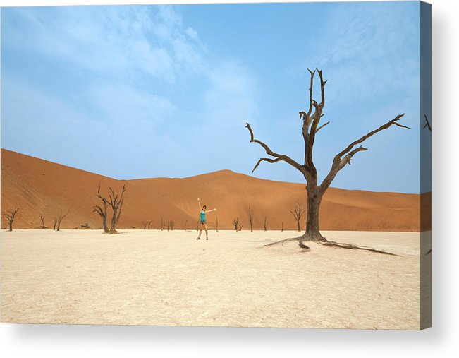 Tranquility Acrylic Print featuring the photograph Deadvlei by Mb Photography