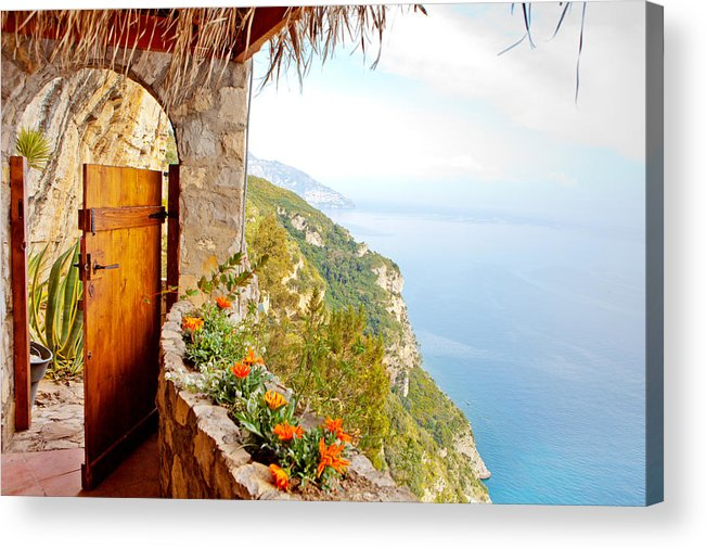 Door Acrylic Print featuring the photograph Door to Paradise by Good Focused