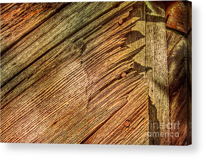 Wood Acrylic Print featuring the photograph End Game by The Stone Age
