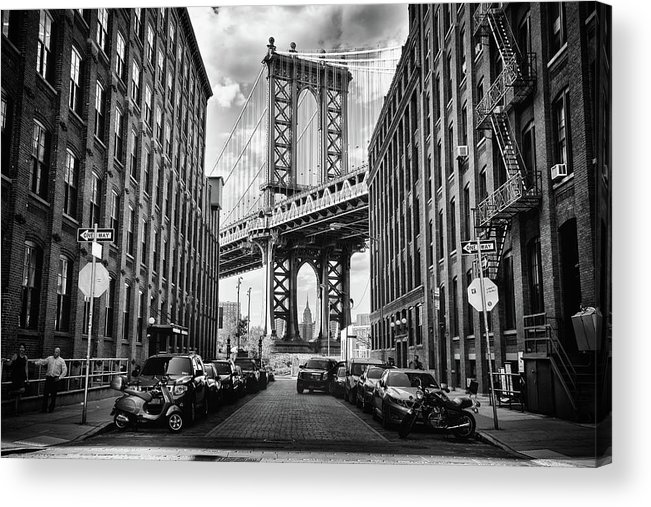 Architecture Acrylic Print featuring the photograph In America by Lidia Vanhamme