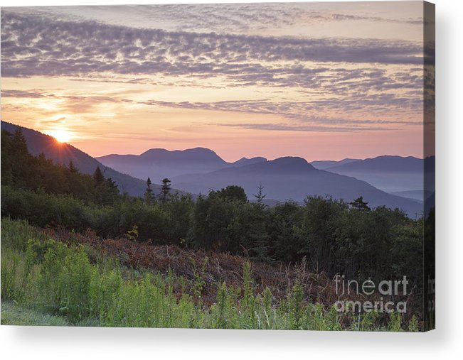 C.l. Graham Wangan Grounds Acrylic Print featuring the photograph Kancamagus Highway - White Mountains New Hampshire USA by Erin Paul Donovan