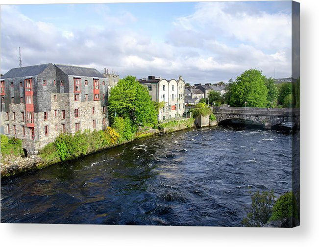 Tranquility Acrylic Print featuring the photograph Lough Corrib Galway City Ireland by M Timothy O'keefe