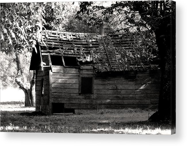Derelict Acrylic Print featuring the photograph Love Shack by Everett Bowers