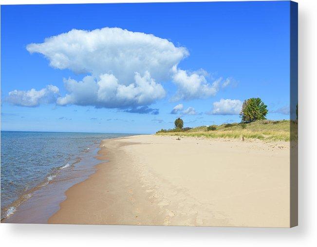 Lake Michigan Acrylic Print featuring the photograph Michigan Lake Shore by Espiegle