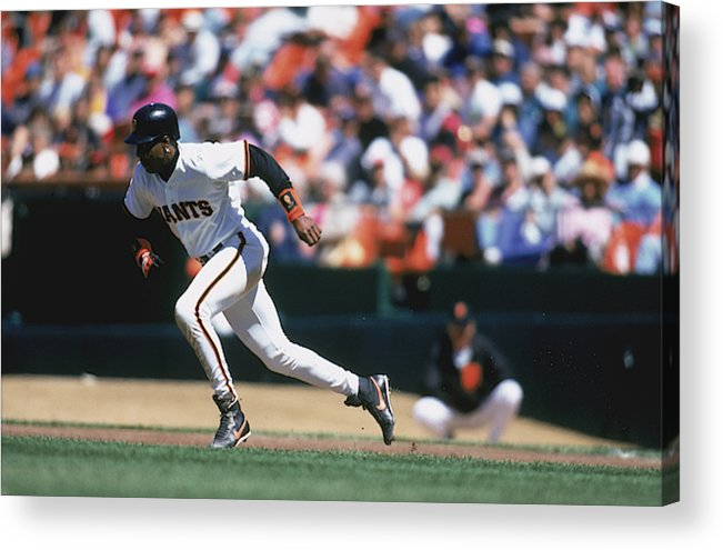 Candlestick Park Acrylic Print featuring the photograph MLB Photos Archive by Jeff Carlick
