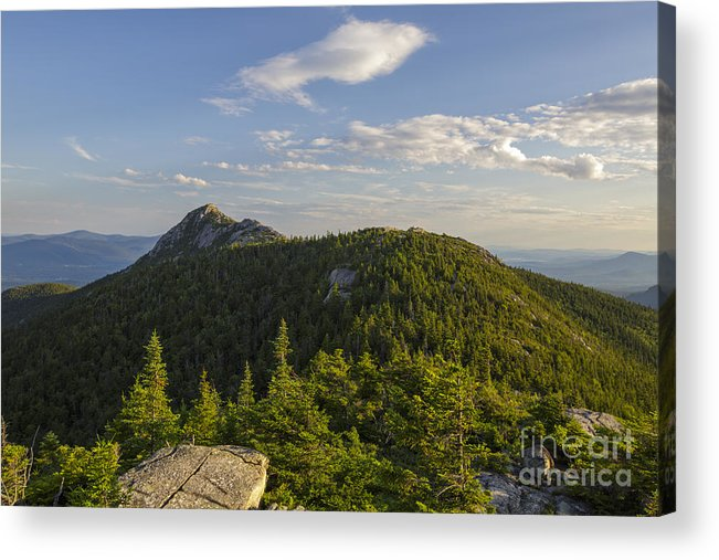 Middle Sister Trail Acrylic Print featuring the photograph Mount Chocorua - White Mountains New Hampshire USA by Erin Paul Donovan