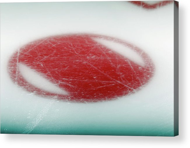 Generic Acrylic Print featuring the photograph New York Rangers V Philadelphia Flyers by Bruce Bennett