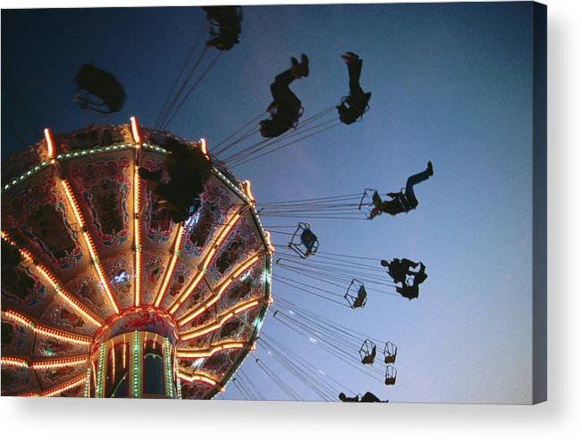 Event Acrylic Print featuring the photograph Oktoberfest Style Event In September by Thomas Winz
