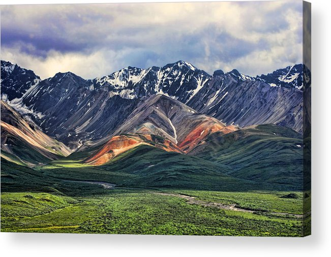 Polychrome Acrylic Print featuring the photograph Polychrome by Heather Applegate