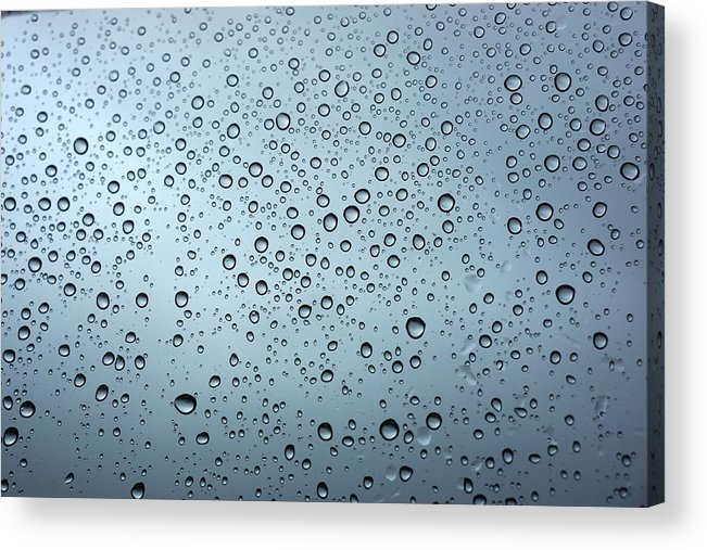 Horizontal Acrylic Print featuring the photograph Rainy Day Out by Nigel Killeen