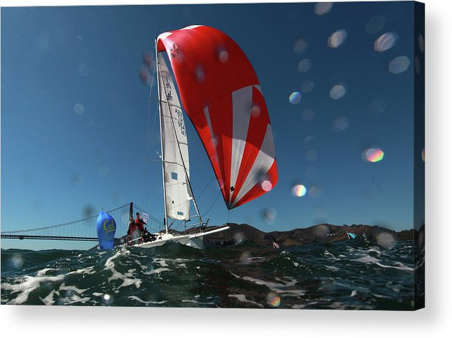 San Francisco Acrylic Print featuring the photograph Rolex Big Boat Series by Ezra Shaw