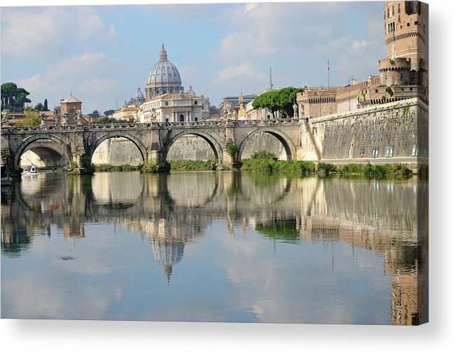 Arch Acrylic Print featuring the photograph Rome by Madzia71