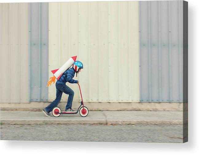 Taking Off Acrylic Print featuring the photograph Speed by Richvintage