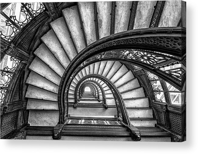 Chicago Acrylic Print featuring the photograph The Rookery by Yimei Sun
