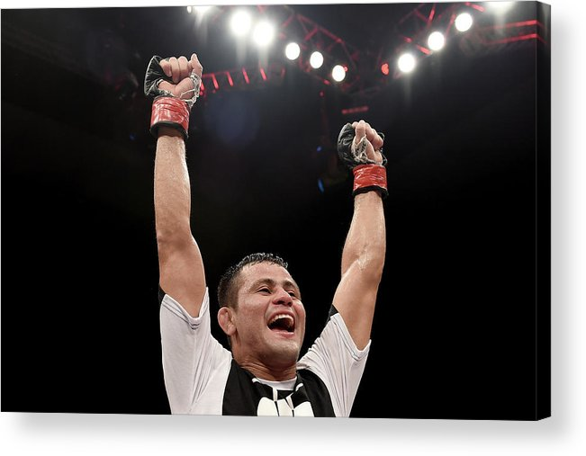 Martial Arts Acrylic Print featuring the photograph Ufc Fight Night Formiga V Reis by Buda Mendes/zuffa Llc