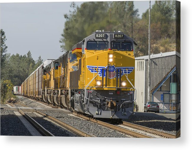California Acrylic Print featuring the photograph Up 8207 by Jim Thompson