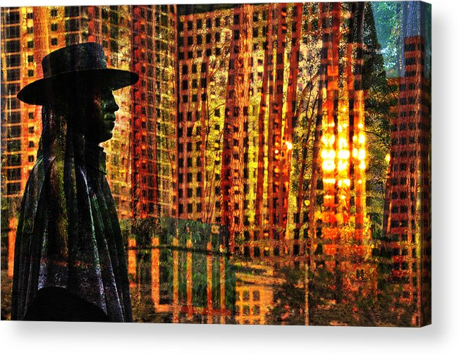 Urban Guru Acrylic Print featuring the photograph Urban Guru by Skip Hunt