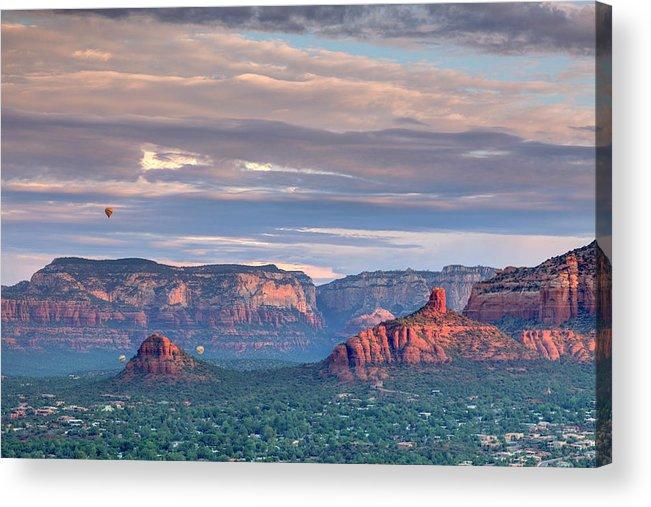 Scenics Acrylic Print featuring the photograph Usa, Arizona, Sedona by Michele Falzone