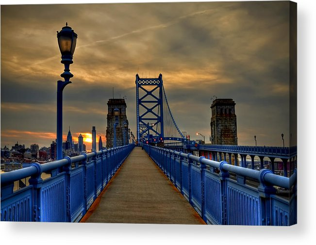 America Acrylic Print featuring the photograph Walk with Me by Evelina Kremsdorf