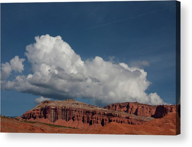 Southern Utah Acrylic Print featuring the photograph Capitol Reef National Park by Southern Utah Photography