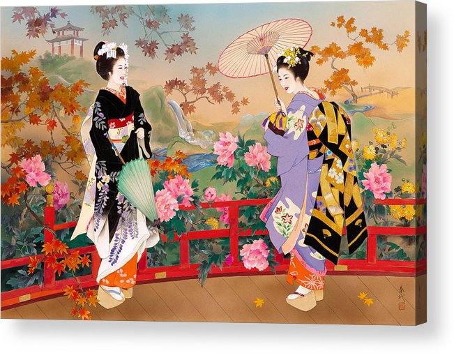 Adult Acrylic Print featuring the photograph Higasa by MGL Meiklejohn Graphics Licensing