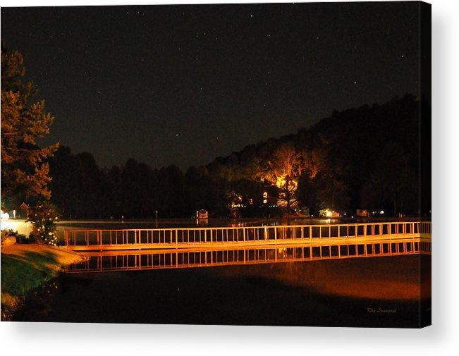 Bridge Acrylic Print featuring the photograph Night Bridge by Kay Lovingood